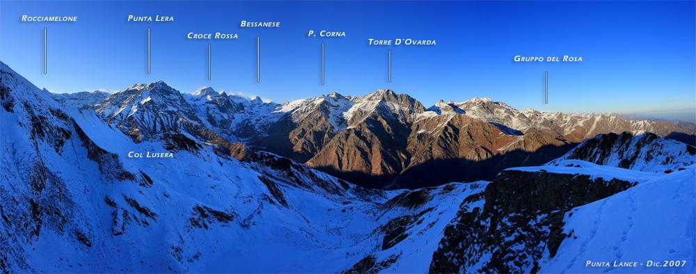 Panoramiche - P a e s a g g i V e r t i c a l i (Fotografie di Fernando Re Fiorentin)